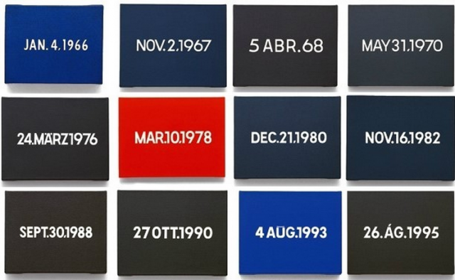 On Kawara - the Today Series (1966 - 2014)