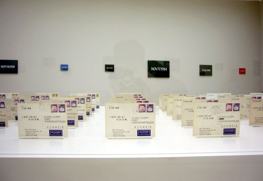 On Kawara - Postcards (1968-1969)