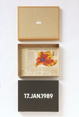 On Kawara - 17.Jan.1989, from the <em>Today Series</em> (1966 - 2014), Walker Art Center