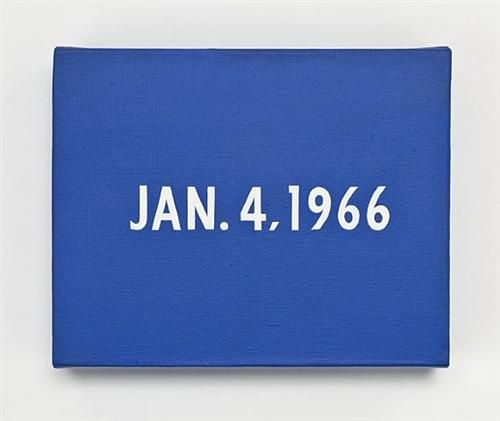 On Kawara: JAN. 4, 1966, New York's traffic strike. From Today, 1966–2013. Photograph: Courtesy David Zwirner, New York/London