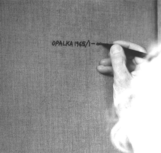 Roman Opalka - Dètail (1965-2011)