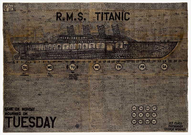 George Widener - Titanic, 2007