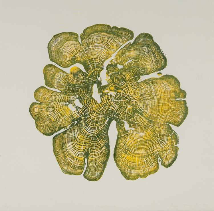 Brian Nash Gill - Woodcut, Yellow Cedar, 2012
