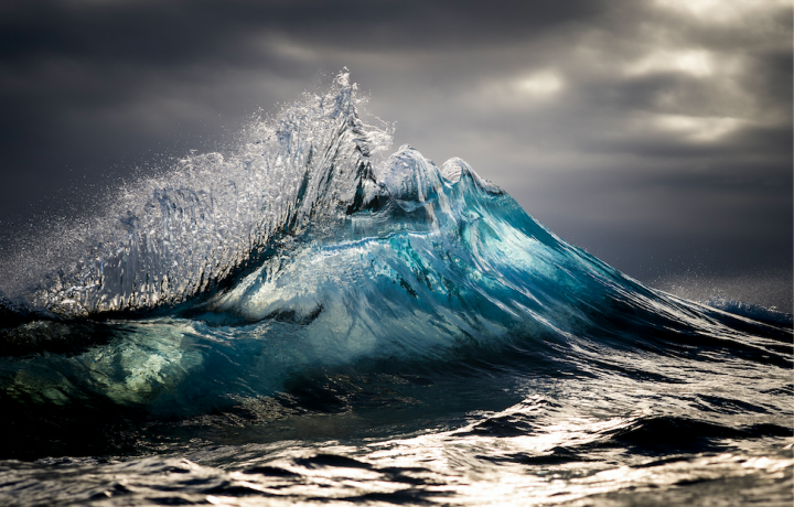 RAY COLLINS AND HIS WAVES FROZEN IN TIME