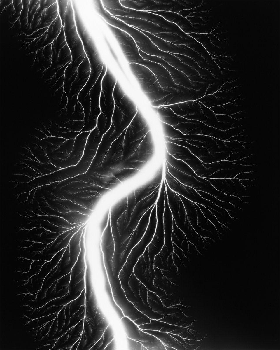 Hiroshi Sugimoto - Lightning Fields 225, 2009