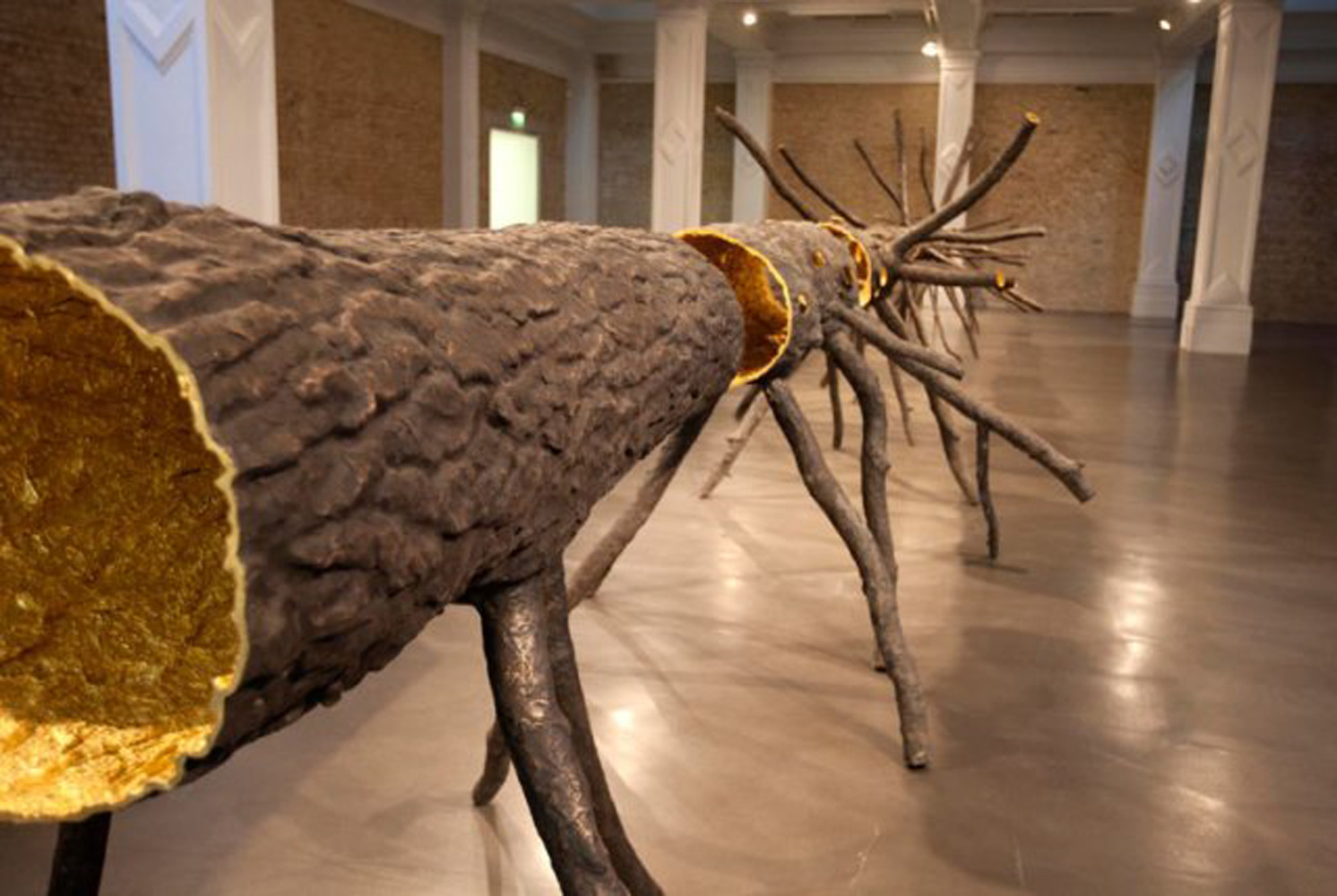 Giuseppe Penone, Space of Light at Whitechapel Gallery, 2012