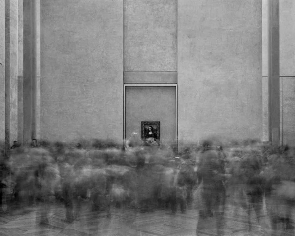 Matthew Pillsbury - Time Frame, La Joconde-Salle des Etats, Le Louvre, 2013