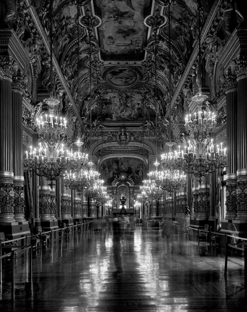 Matthew Pillsbury - Time Frame, Le Grand Foyer, Opera National de Paris, Palais Garnier, 2013