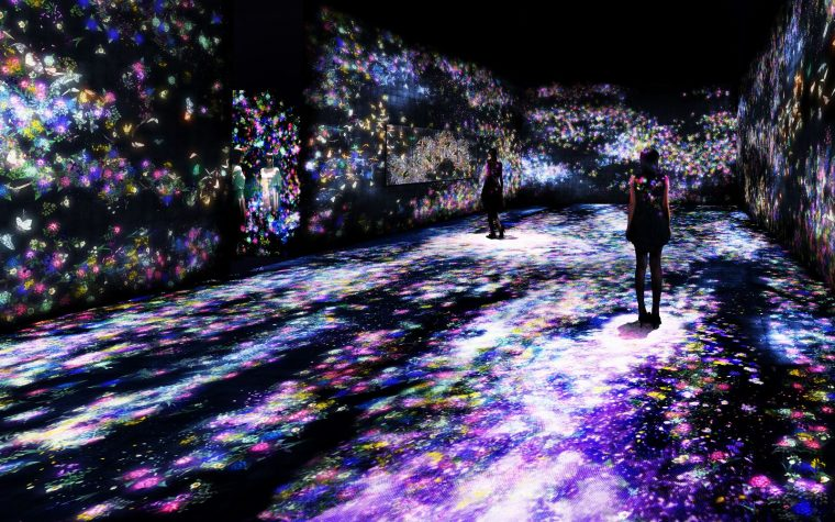 TEAMLAB – THE TIME OF THE CHERRY BLOSSOMS